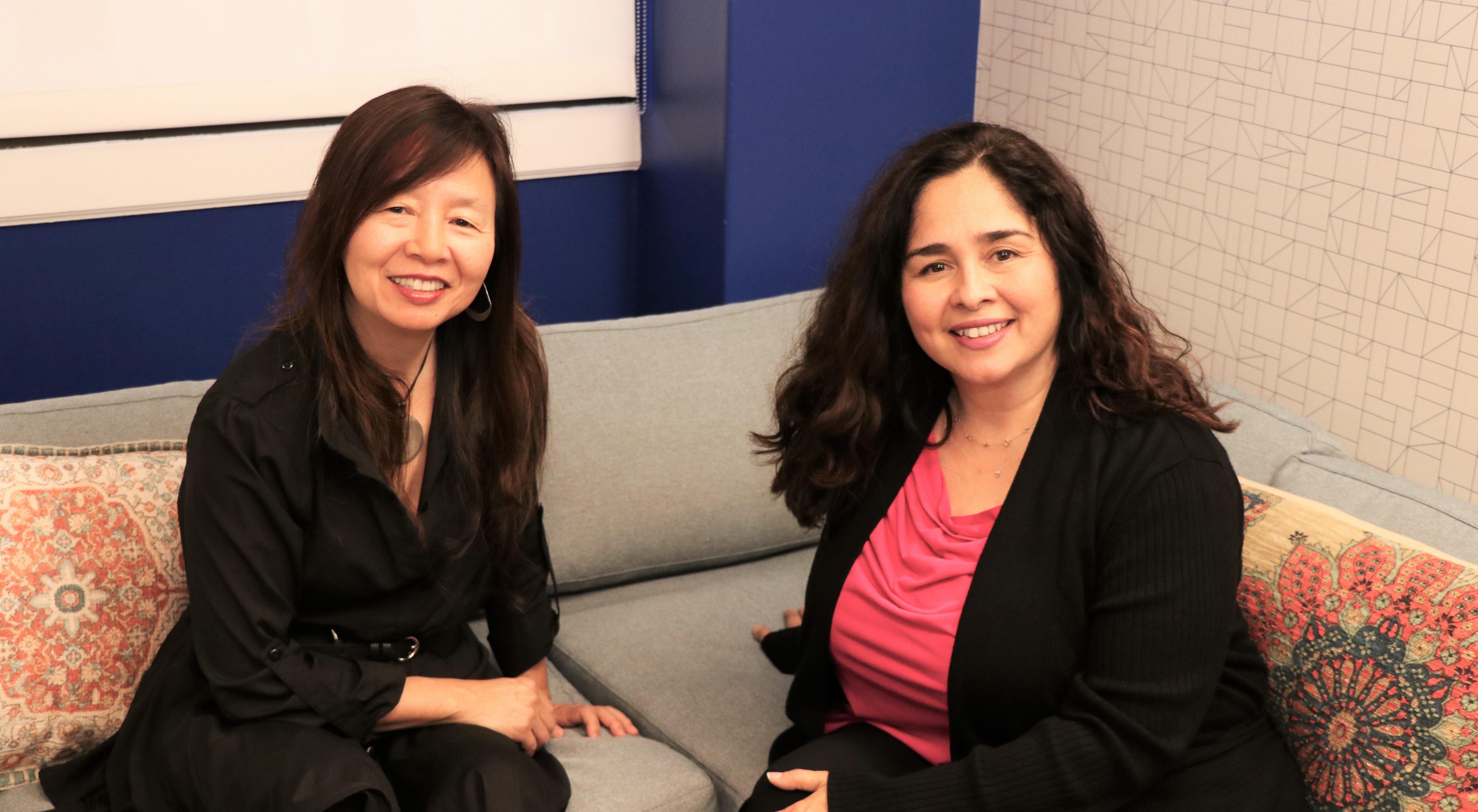 Lucia Corral Pena and Mimi Kim