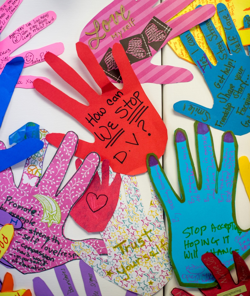 Artwork by domestic violence survivors to promote healing