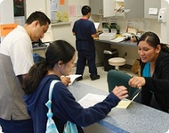 Patients at a California Community Health Center