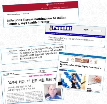Ethnic media headlines